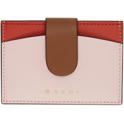 Pink & Red Law Card Holder