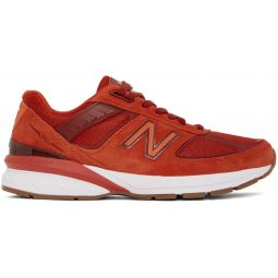 Red Made In US 990v5 Sneakers