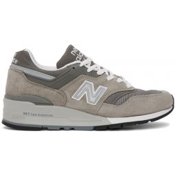 Grey Made In US 997 Sneakers