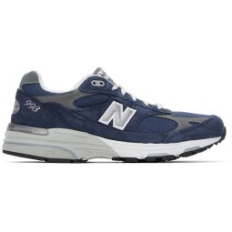 Navy Made In US 993 Sneakers