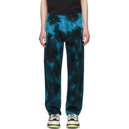 Multicolor Tie-Dye Jeans