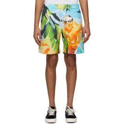 Multicolor Summer Print Shorts
