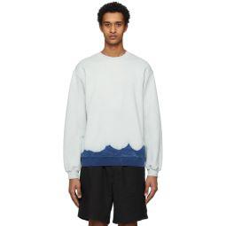 Off-White Bleached Effect Sweatshirt