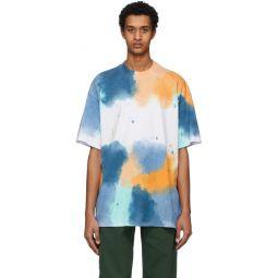 Multicolor Watercolor Pattern T-Shirt
