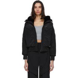 Reversible Black Hooded Jacket