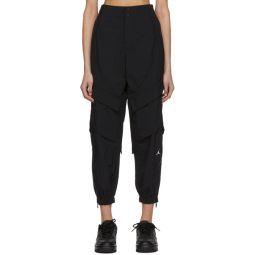 Black Utility Lounge Pants