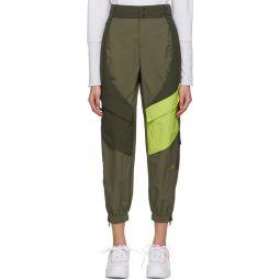 Green Utility Lounge Pants