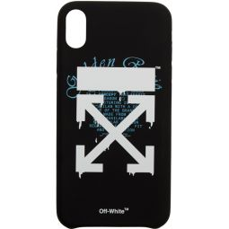 Black Dripping Arrows iPhone XR Case