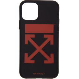Black & Red Arrow iPhone 11 Case