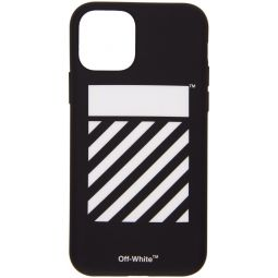 Black Diagonal iPhone 11 Case