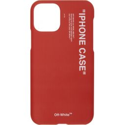 Red Quote iPhone 11 Case