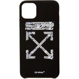 Black Airport Tape iPhone 11 Max Case