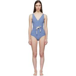 Blue Yasmin One-Piece Swimsuit