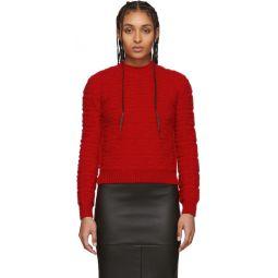 Red Forever Fendi Embossed Sweater