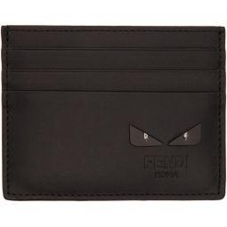 Black & Silver Bag Bugs Card Holder