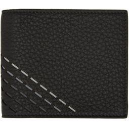 Grey Degrade Stitch Bifold Wallet