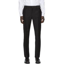 Black Faded Forever Fendi Trousers