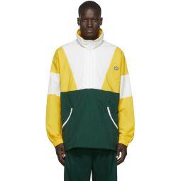 Yellow Colorblock Track Jacket