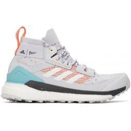 Grey Parley Edition Terrex Free Hiker Sneakers
