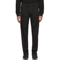 Black Zipper Cargo Pants