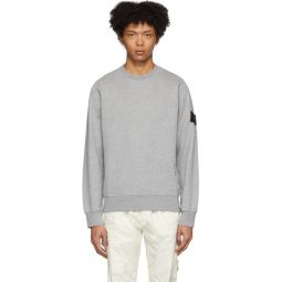Grey Garment-Dyed Sweater