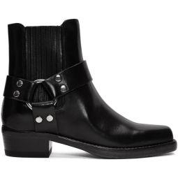 Black Short Cavalry Boots