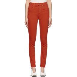 Red Originals High-Rise Jeans
