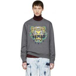 Grey Limited Edition Dragon Tiger Sweatshirt
