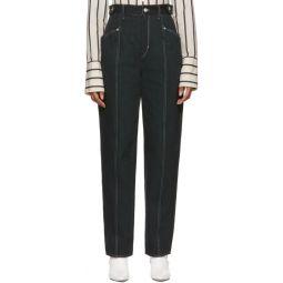 Black Contrast Genie Jeans