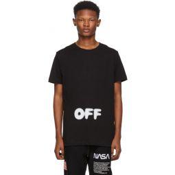 Black Kidmograph Slim T-Shirt