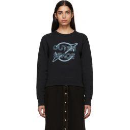 Black Outer Space Sweatshirt
