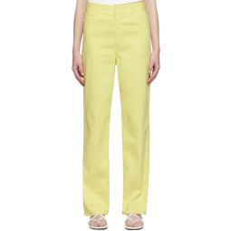 Yellow Spring Carpenter Jeans