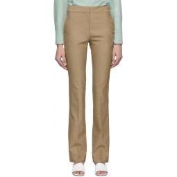 Brown Jamie Bootcut Trousers