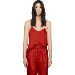 Red Twill Mendini Camisole