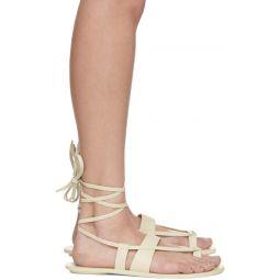 White Reid Sandals