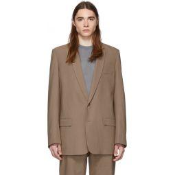 SSENSE Exclusive Brown Long Blazer