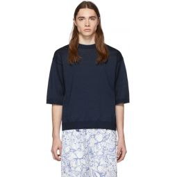 SSENSE Exclusive Navy Corded T-Shirt