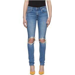 Blue 721 High-Rise Skinny Jeans