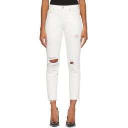 White Wedgie Icon Fit Jeans