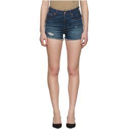 Blue 501 High-Rise Shorts