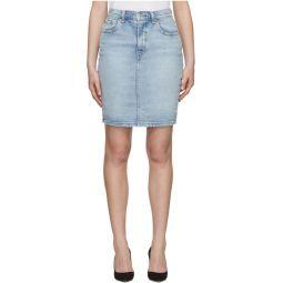 Blue Denim Essential Miniskirt
