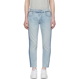 Blue 512 Slim Wrong Side Out Jeans