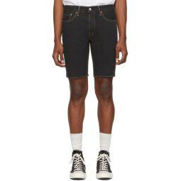 Black Denim 511 Slim Shorts