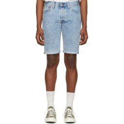 Blue Denim 501 Original Cut-Off Shorts