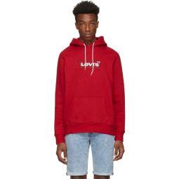 Red Modern Hoodie