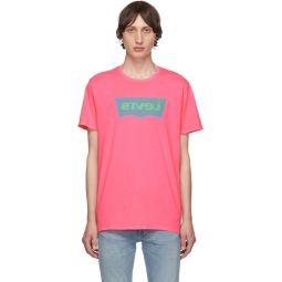 Pink Housemark Graphic T-Shirt