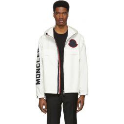 White Montreal Zip-Up Jacket