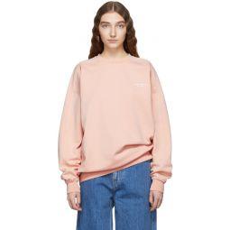 Orange Wora Sweatshirt