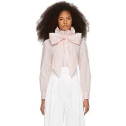 Pink High Collar Shirt