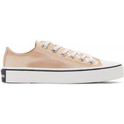 Pink Redux Grunge Satin Sneakers